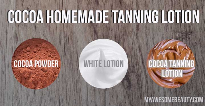 Cocoa tanning lotion recipe