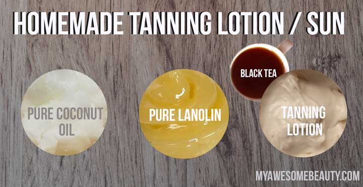 outdoor tanning lotion