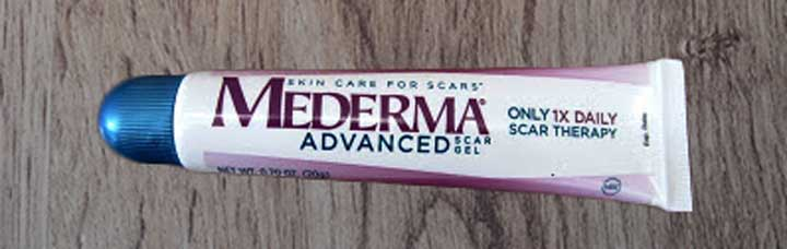 mederma scar gel tube