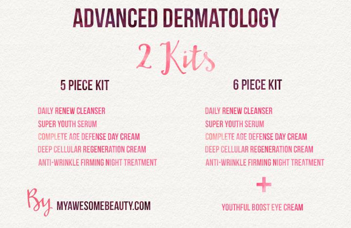 advanced dermatology trial kits