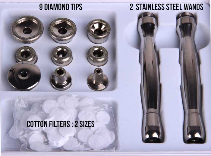 diamond tips and wands