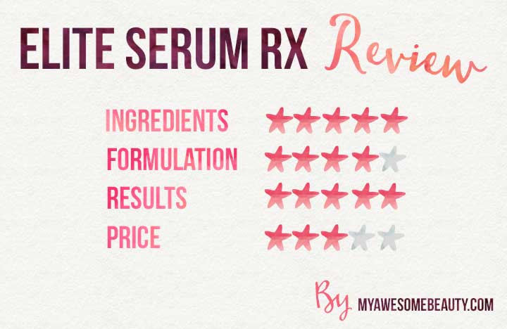 elite serum RX reviews
