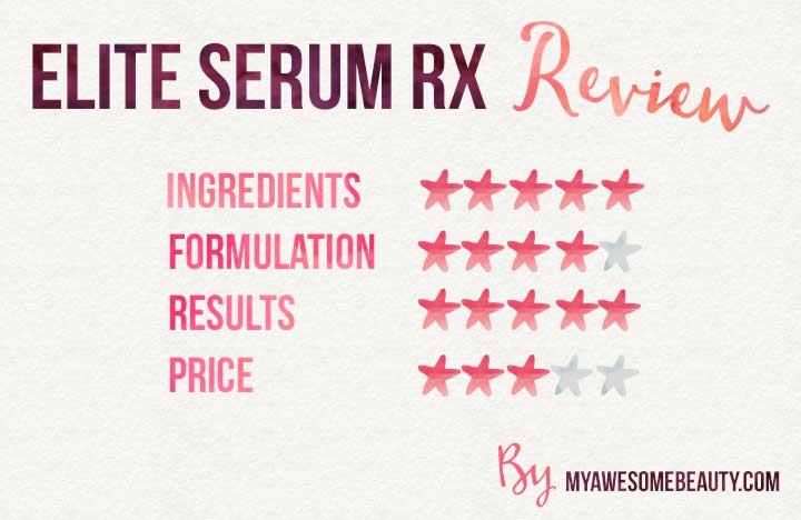 elite serum RX reviews