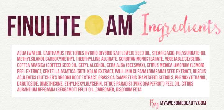Finulite day cream ingredients