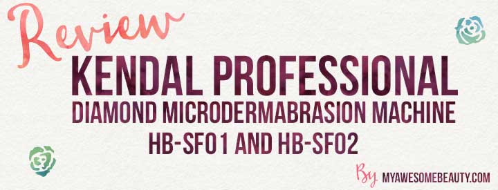 Kendal professional diamond microdermabrasion machine HB-SF01 HB-SF02