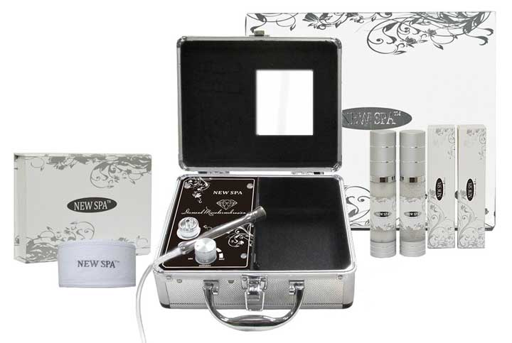 new spa home microdermabrasion machine kit