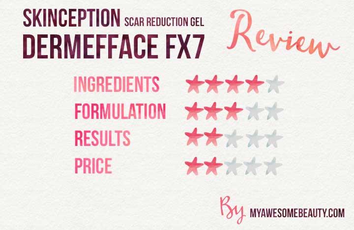 skinception dermefface FX7 reviews