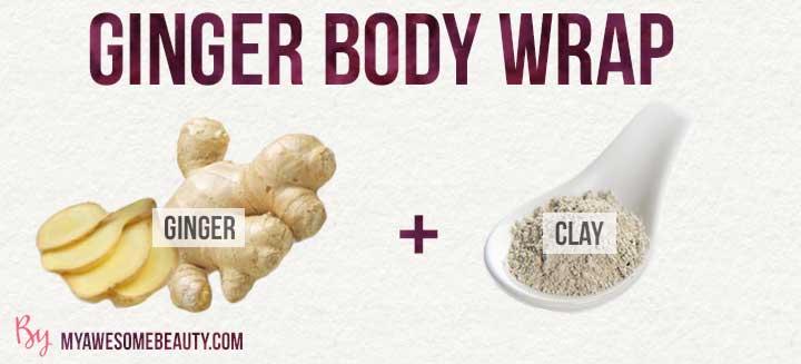 ginger body wrap recipe