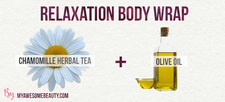 relaxation body wrap recipe