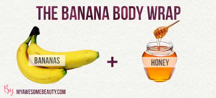 the banana body wrap recipe