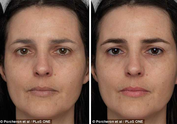 make up younger faces
