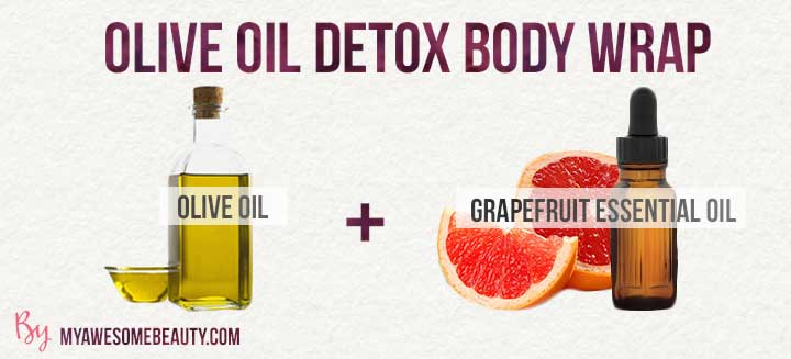 olive oil detox body wrap recipe