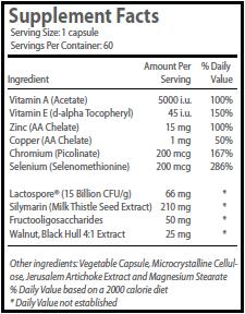 probiotic complex ingredients