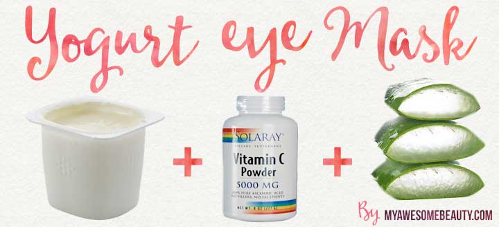 yogurt eye homemade mask