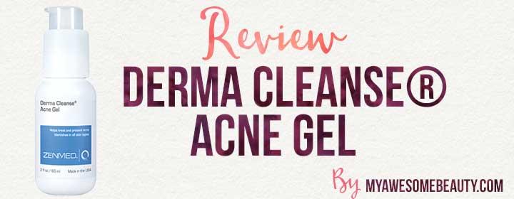 derma cleanse acne gel