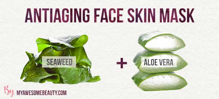 antiaging face skin mask