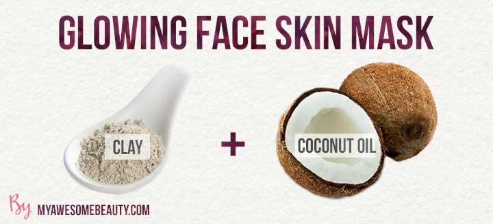 glowing face skin mask