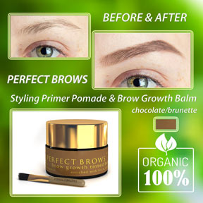 perfect brows with pommade