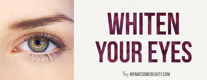 whiten your eyes