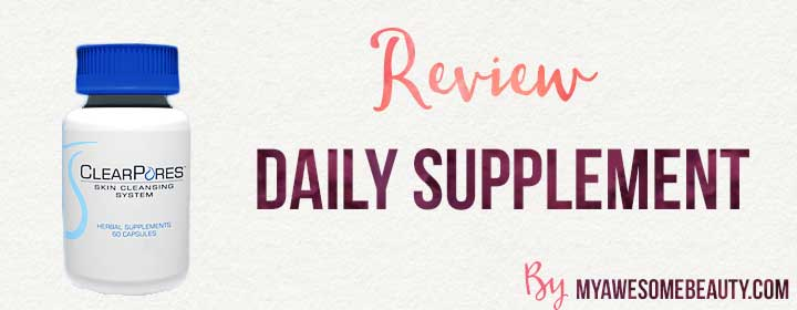 Clearpores daily supplement