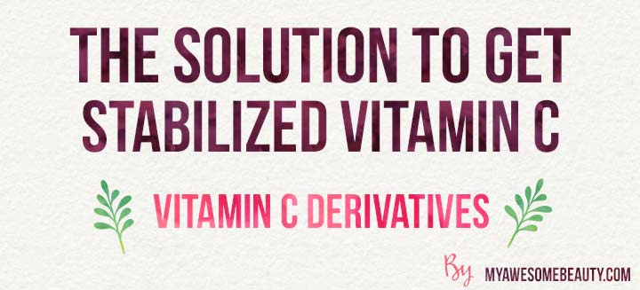solution to vitamin C oxydation issues