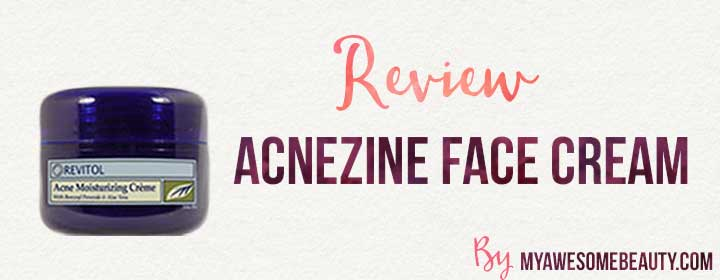Our Acnezine Review After 4 Weeks What We Really Think Of It