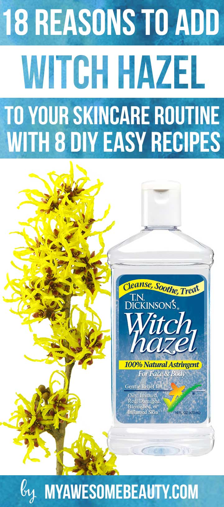 Can you use witch hazel for acne