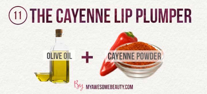 The cayenne lip plumper