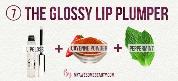 the glossy lip plumper without cinnamon