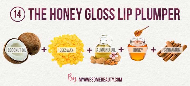 The honey gloss lip plumper