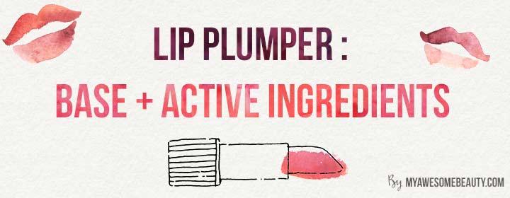 Lip plumper structure