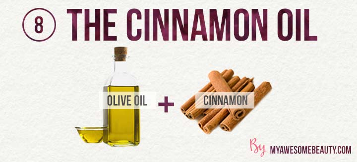 the cinnamon oil