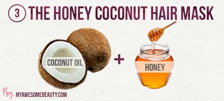 the honey coconut hair mask