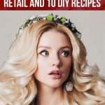 How to repair bleached damaged hair fast and safely ?