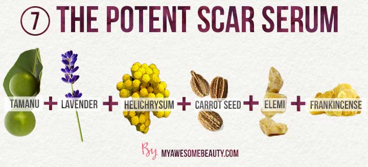 the potent scar serum