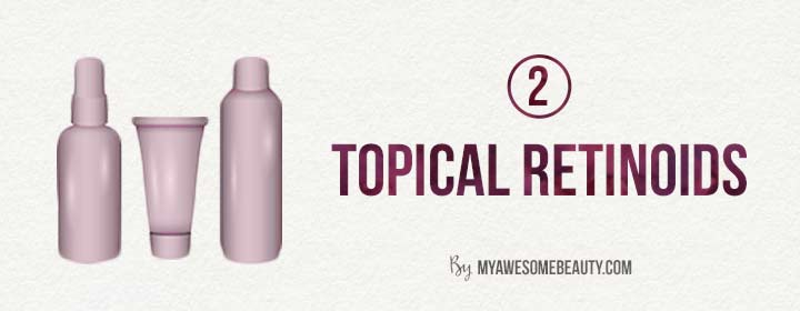 topical retinoids for acne scars