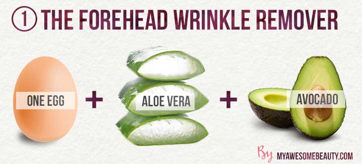 the forehead wrinkle remover