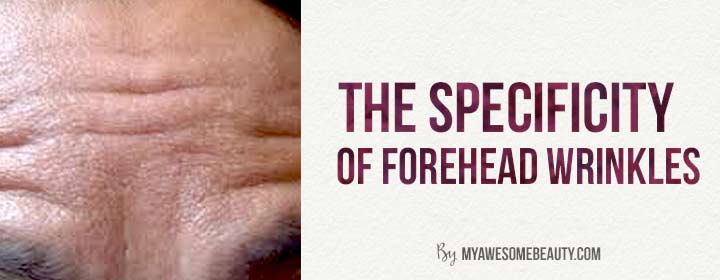 the specifity of forehead wrinkles