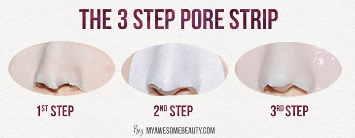 pictures of the nose pore strips