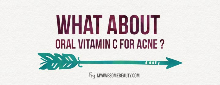 oral vit C for acne