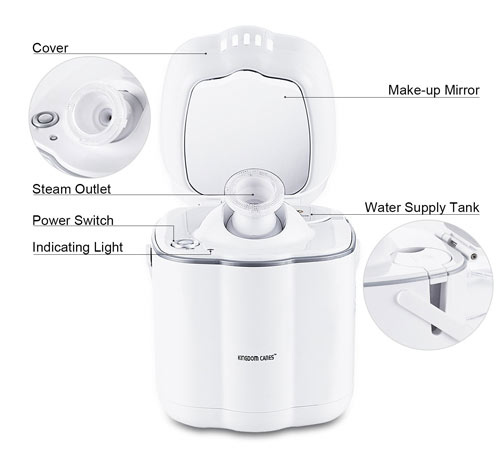 Kingdombeauty face steamer overview