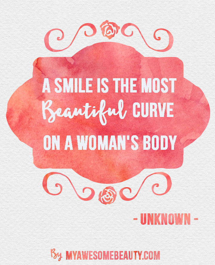 Beauty quotes to enjoy part 5  Quotes About Beautiful Smiles