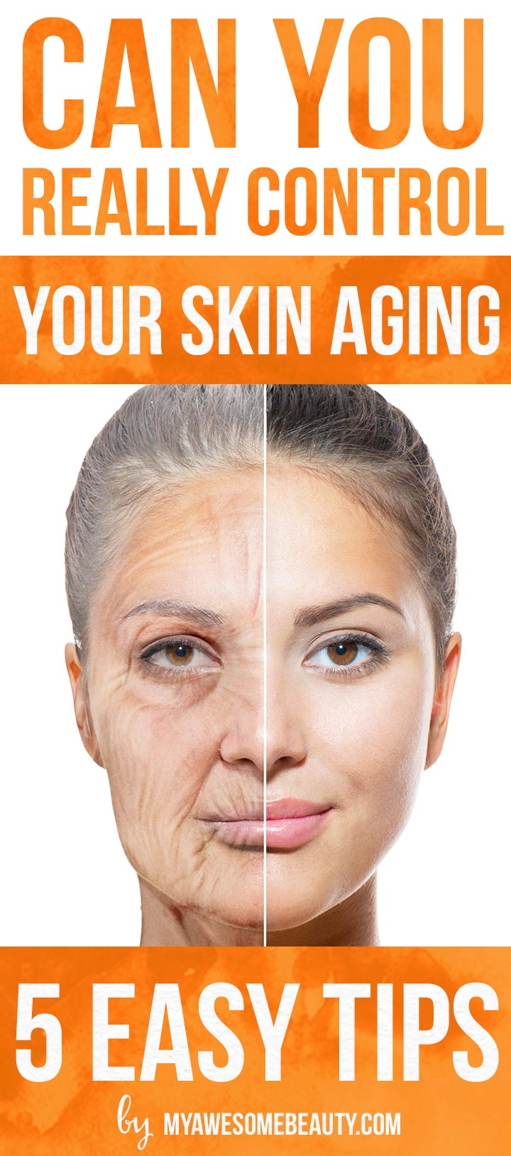 can we really control our skin aging?