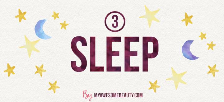 effects of sleep on skin