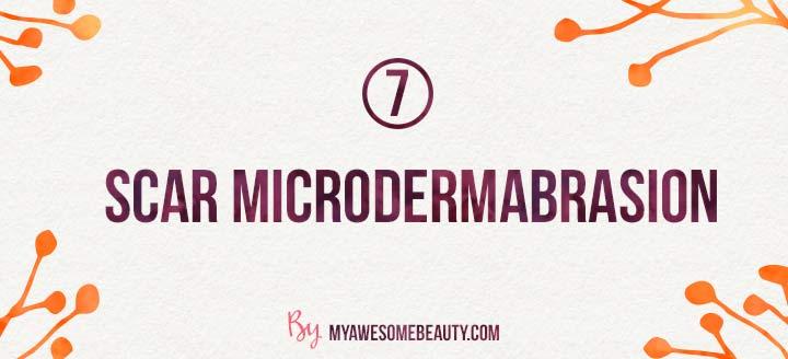 scar microdermabrasion