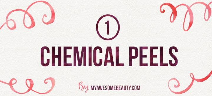Chemical Peels to get rid of loose skin
