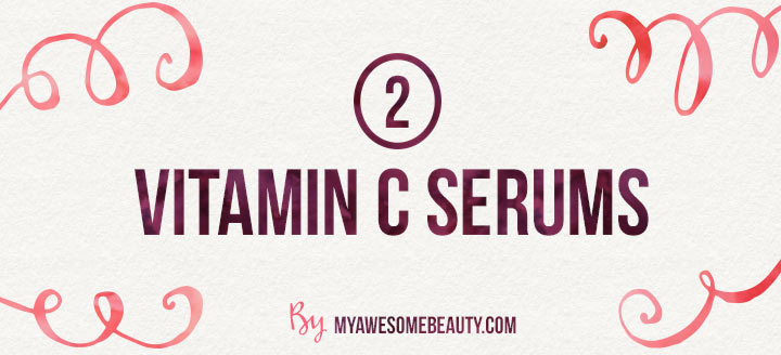 Vitamin C serums to fight lose skin