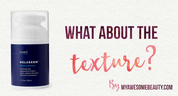the cream texture