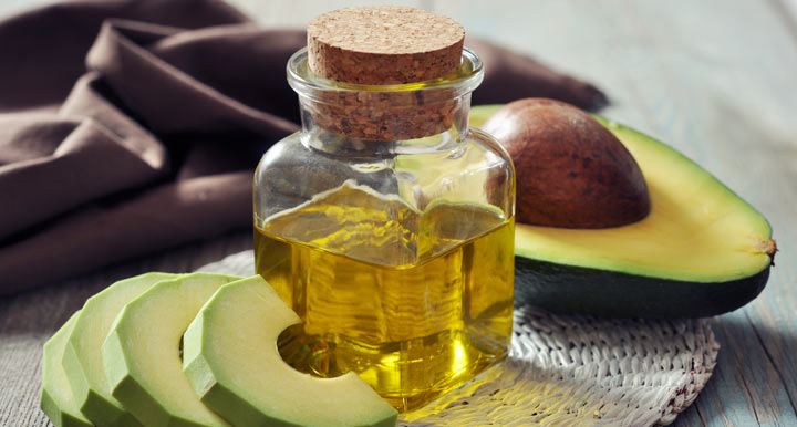 avocado oil in a bottle